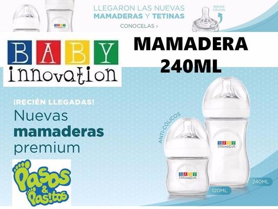 Mamadera Baby Innovation 240ml (parecida A Avent) Excelente