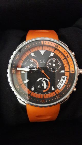 Relógio Calvin Klein - Fabricado Na Suíça - Semi Novo
