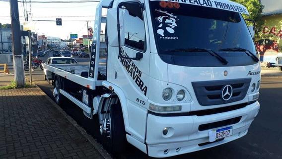 Mb Guincho Plataforma E Asa Mercedes 815 Ano 2012