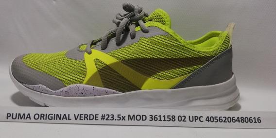 Puma Original Verde #23.5 Mx Mod 361158 02 Upc 4056206480616