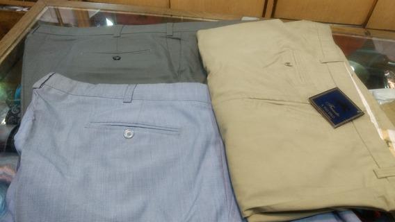 Pantalón De Vestir Talle Especial 60.con Roces