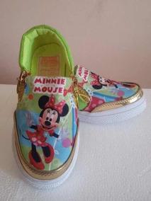 82e731c64ab Zapato Para Niña De Minnie. Bs. 5.000