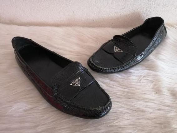 Flats Prada Originales En #7mexicano