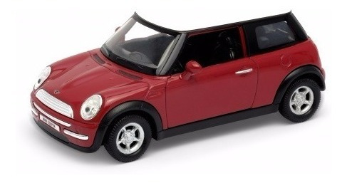 Auto Welly Mini Cooper Colección Escala 1:36