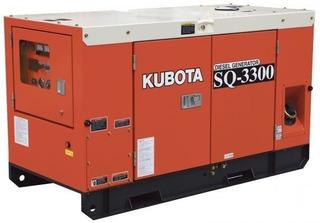 Grupo Electrógeno Kubota Sq 3300 /30 Kva /trif /cab Oferta!