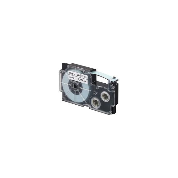 Cinta Para Rotulador Casio Xr-9wer1 9mmx8m Rojo/blanco