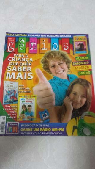Revista Gênios Ano 1 Número 1