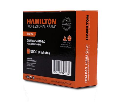 Grampa Engrampadora Hamilton 14 Mm X 12.7 X 5000 Hamilton