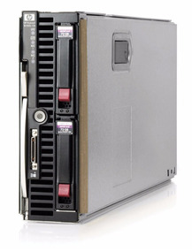 2 Servidores Blades Hp Lam Bl460c G7 Quadcore 64gb 2x 146gb
