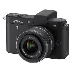 Câmera Digital Nikon 1 V1 10.1mp 2 Lentes - Nova - Lacrada