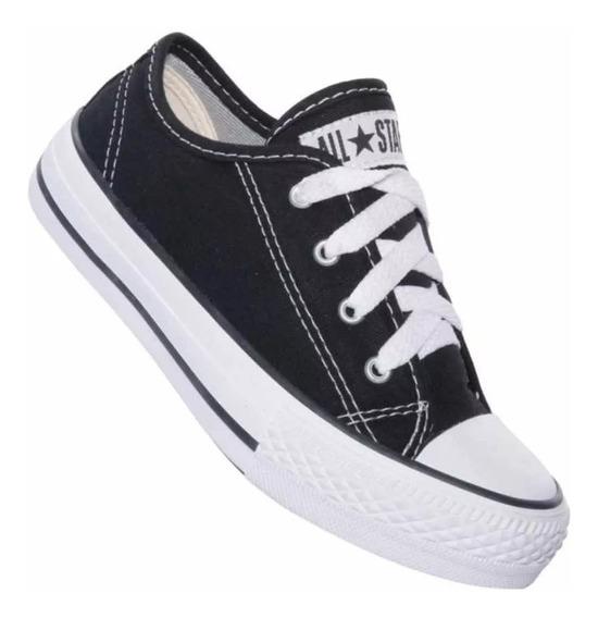 All Star Converse Infantil Ck05060002 Preto/preto