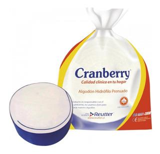 Algodón Prensado Cranberry 250g- Deltamed-