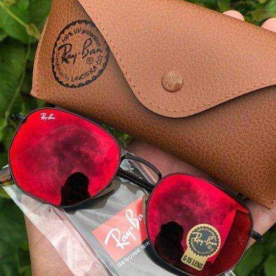 Oculos De Sol Rb 3548 Hexagonal Ciclop 100% Original