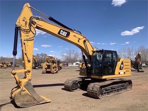 Excavadora Caterpillar 320
