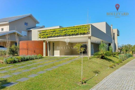 Casa Com 3 Dormitórios À Venda, 289 M² Por R$ 1.950.000,00 - Alphaville Graciosa - Pinhais/pr - Ca0110