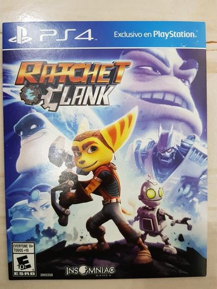 Ratchet & Clank Ps4 Mídia Física (capa De Papelão)
