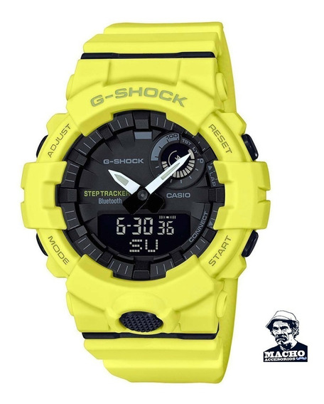 Reloj Casio G-shock Gba800-9a Bluethooth En Stock Original
