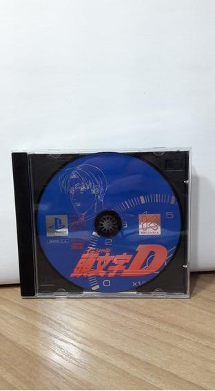 Initial D Ps1 Original Japonês
