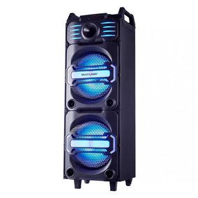 Caixa De Som Party Speaker Dj Bluetooth Led 350w Multilaser