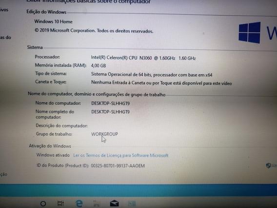Notebook Asus X540s Dual Core, 4 Gb De Ram E 500 De Hd, Dell