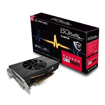 Imagem 1 de 1 de Placa De Video Sapphire Radeon Pulse Rx 570 Itx 4gb 256bits