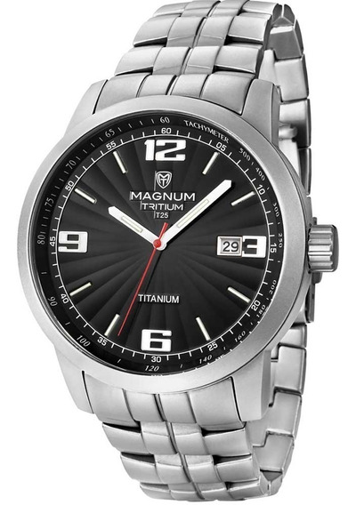 Relógio Masculino Analógico Magnum Mt30106t - Prata