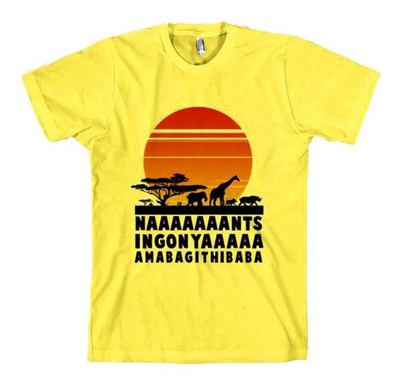 Playera Camiseta El Rey Leon Lion King Africa Cancion Unsx