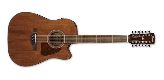 Guitarra Electroacústica Ibanez 12 Cuerdas Aw5412 Ce Opn