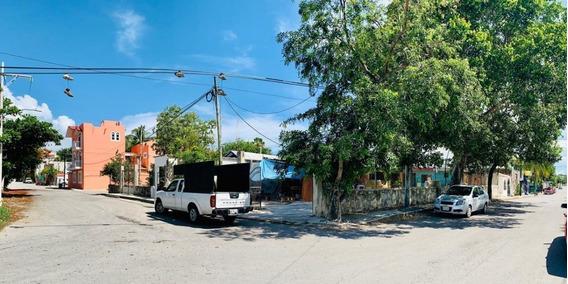 Terreno En Venta En Esquina Uso Comercial Ejido En Playa Del Carmen
