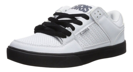 Zapatillas Osiris Protocol White Black Grey