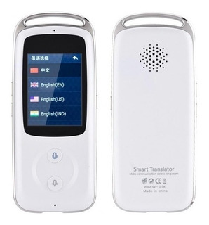 Traductor Smart Tiempo Real 18 Idiomas Android Ios Nuevo