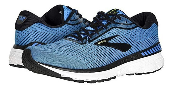Tenis Brooks Adrenaline Gts 20 Caballero Blue Black