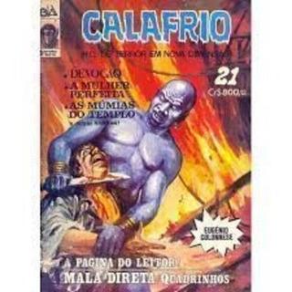 Calafrio - Hq De Terror Em Nova Dimensão 21