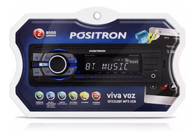 Auto Radio Positron Sp2210 Ub Mp3 Player, Usb Aux, 985