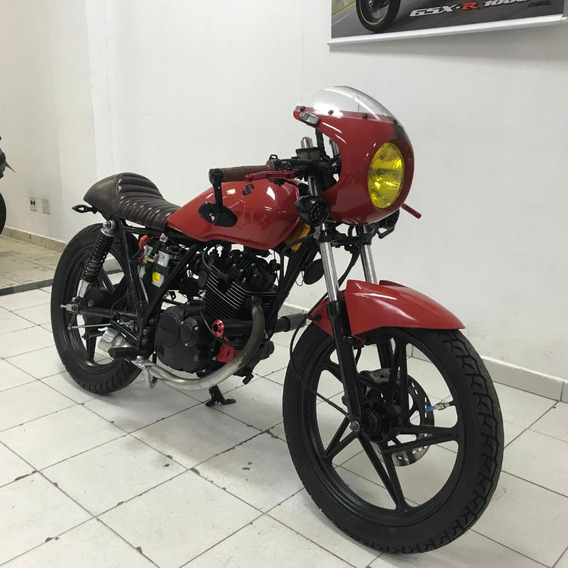 Suzuki Yes 125 Cafe Race