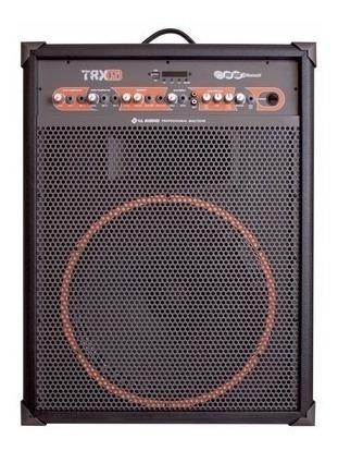 Caixa De Som Amplificada Multiuso Trx15 120 W Rms