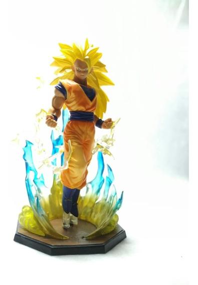 Miniatura Action Figure Goku Super Sayajin 3 Dragon Ball