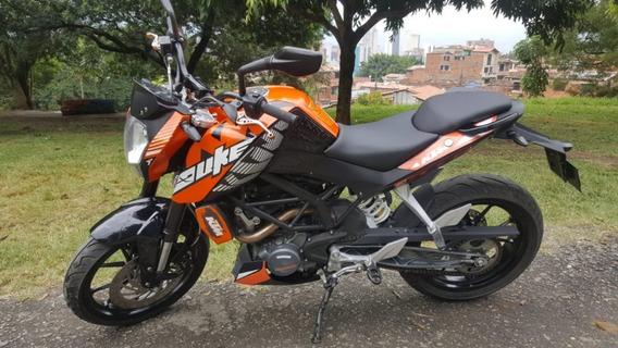 Ktm Duke200 Modelo 2017 Medellin Como Nueva Hermosa