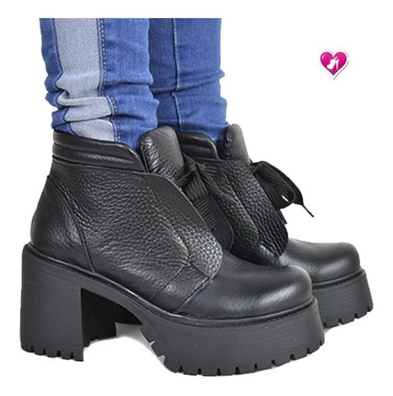 Borcego Cuero El Mas Pedido Modelo Hamburgo De Shoes Bayres