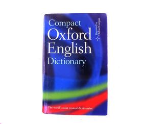 Dicionário Compacto Compact Oxford English Dictionary B3025