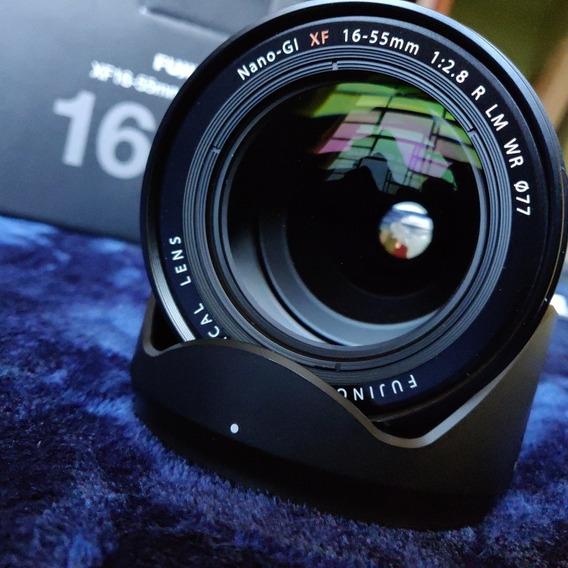 Lente Fuji Fujifilm Xf 16-55mm F2.8 R Lm Wr Impecável