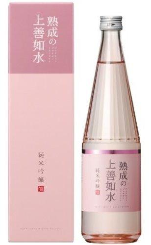 Imagen 1 de 1 de Sake Shirataki Shuzo, Jukusei, (rosado) 720 Ml