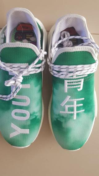 Tenis Pharrell Williams adidas Original Verde