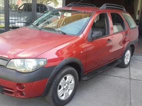 Fiat Palio Adventure 1,8 2005 Rojo 178000 Km