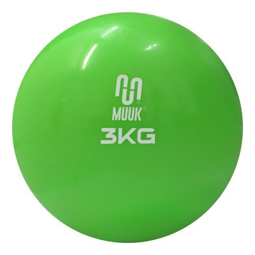 Balon Medicinal Muuk De Silicona Soft 3 Kg