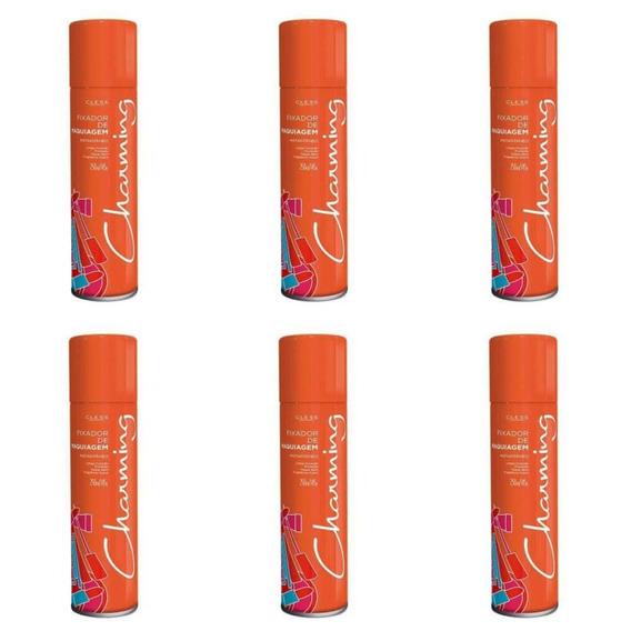 Charming Spray Fixador De Maquiagem 250ml (kit C/06)
