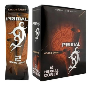 Primal Herbal Cones-pack 10 Display P/mayoreo $468 X Display