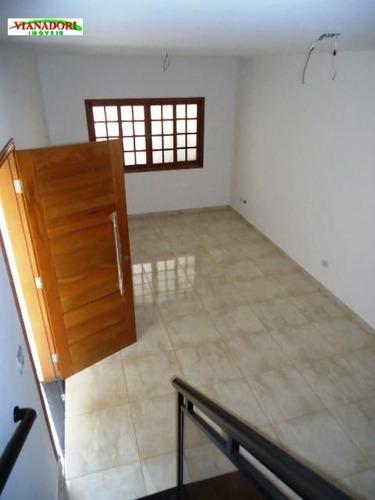 Imagem 1 de 26 de Sobrado Novo 3 Suites E 4 Vags Com 130m²  Bairro Santa Mena Guarulhos - So0308