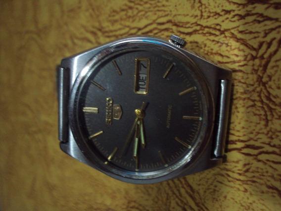 Relógio Seiko Cinza