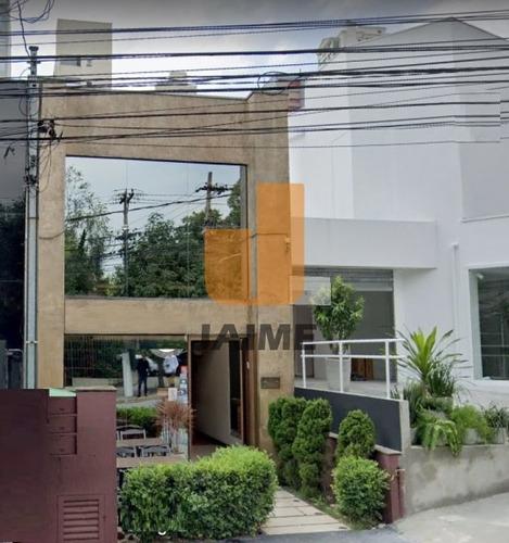 Casa Comercial Para Locação No Bairro Higienópolis Em São Paulo - Cod: Ja17237 - Ja17237